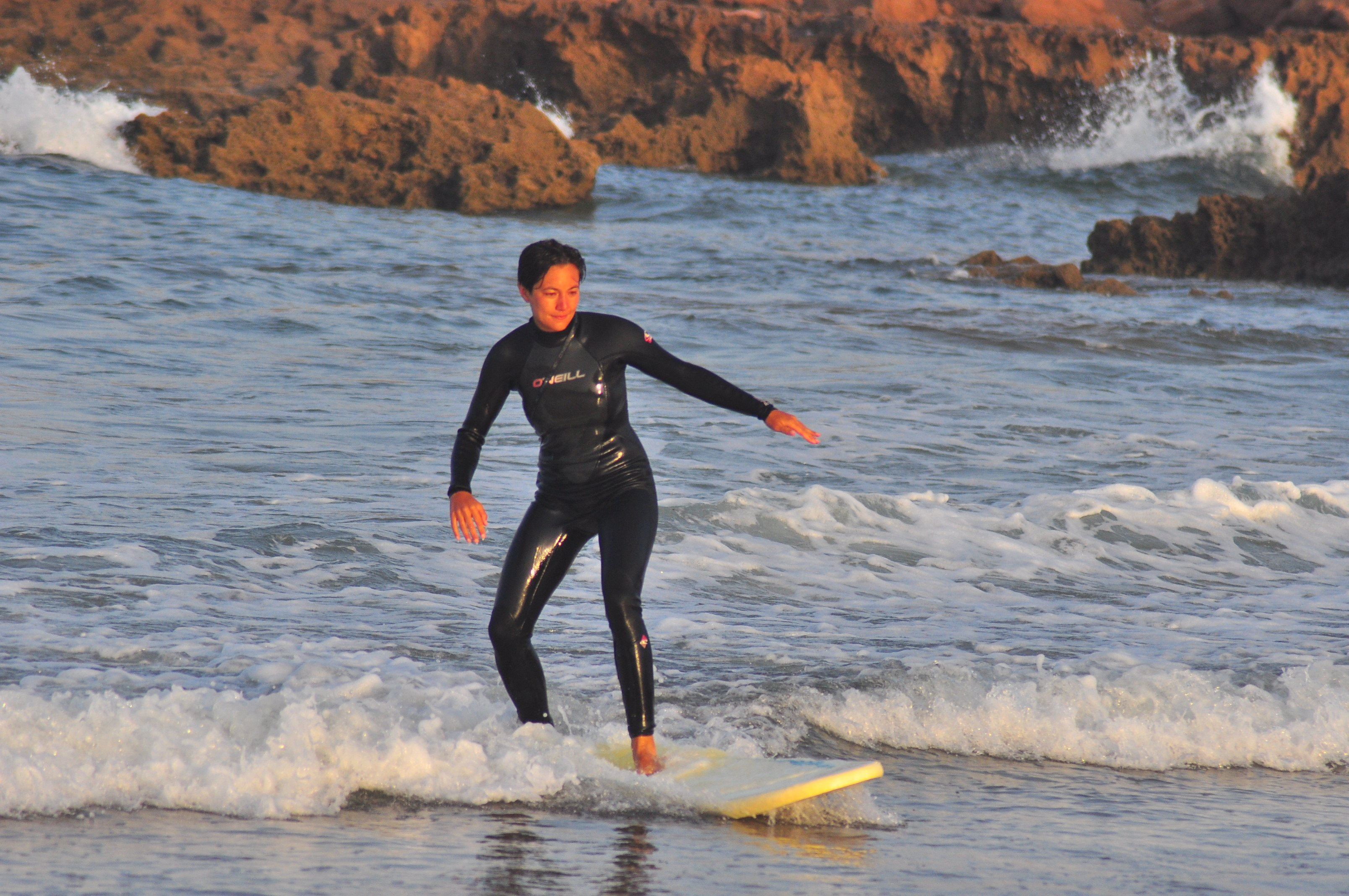 beginner surfer morocco