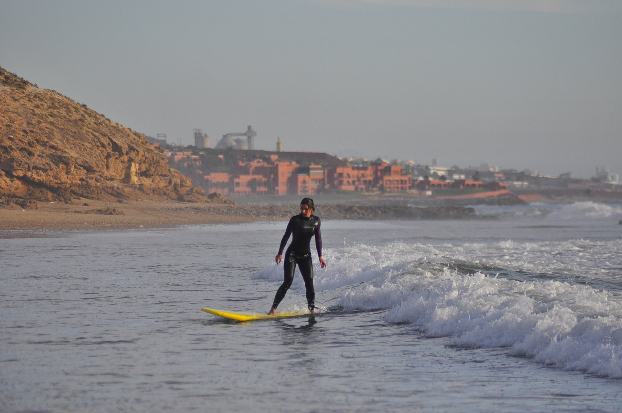 beginner wave morocco