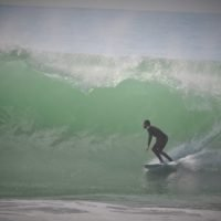bottom turn taghazout