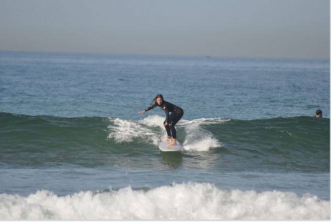 improver surf lesson morocco